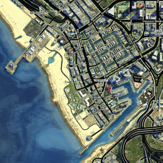 DLK HD Satellite Map Mod DieLikeKane - Hd satellite map