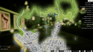DLK HD Atlas Map For OPENIV GTAV SP003